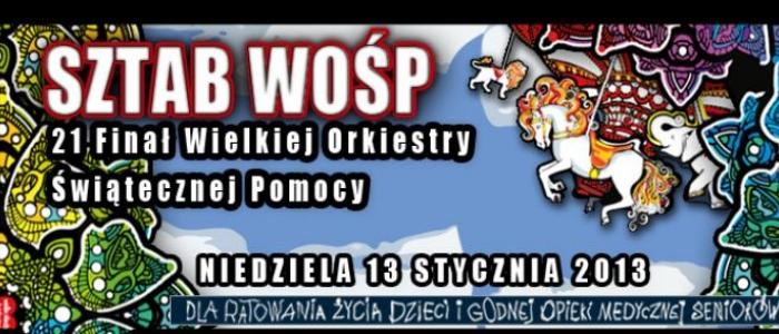 Nabór wolonatriuszy WOŚP 2013